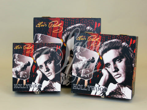 Elvis Set of 3 Storage Boxes