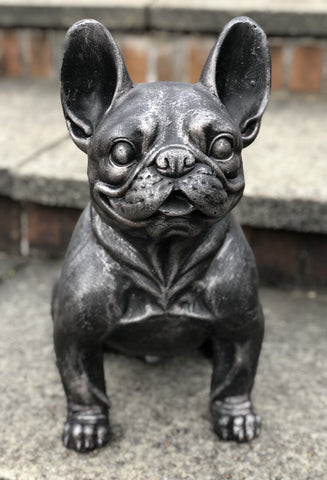 Charcoal Grey French Bulldog Ornament - FC003