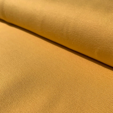 Cotton Jersey Yellow £12.90 per metre