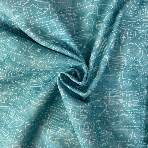 Pattern Pieces  £16.90 per metre