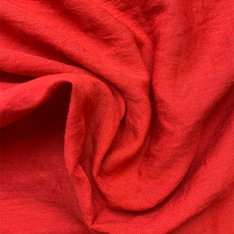 Cotton Blend - Summer Weight/Scarlet £10.90 per metre
