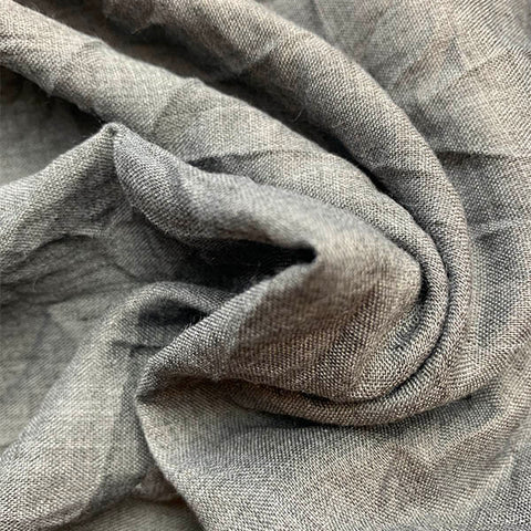 Cotton Blend - Summer Weight/Charcoal £10.90 per metre