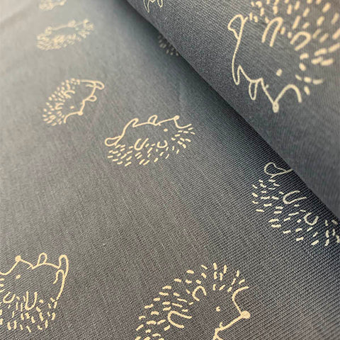 Cotton Jersey - Hedgehogs £14.90 per metre