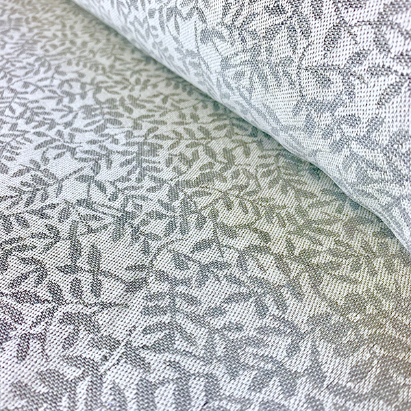 Leaf Jacquard Grey