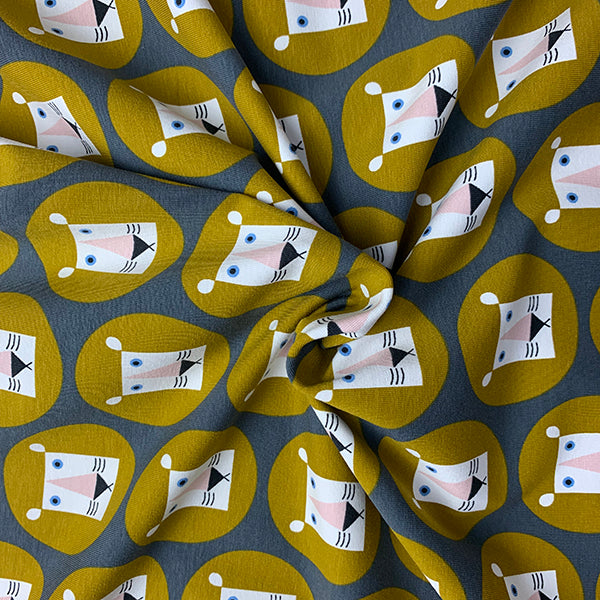 Roar! Cotton Jersey £18.90 per metre