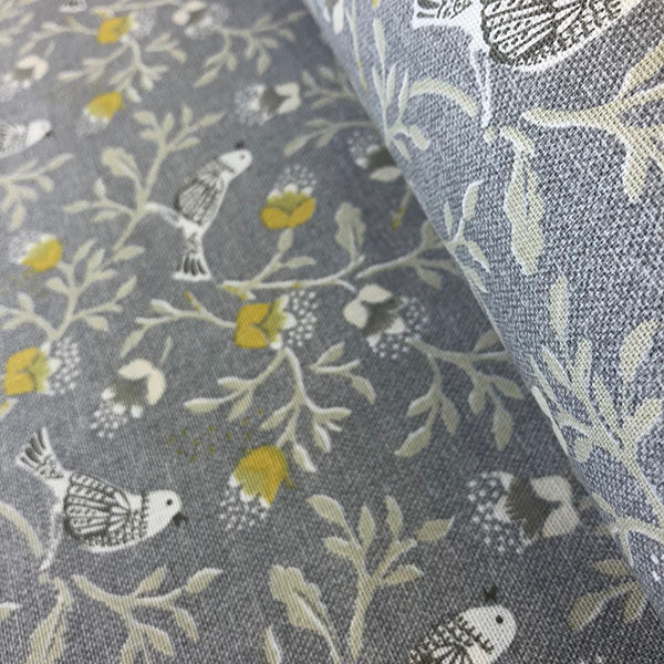 Wicken Birdsong Grey/Gold