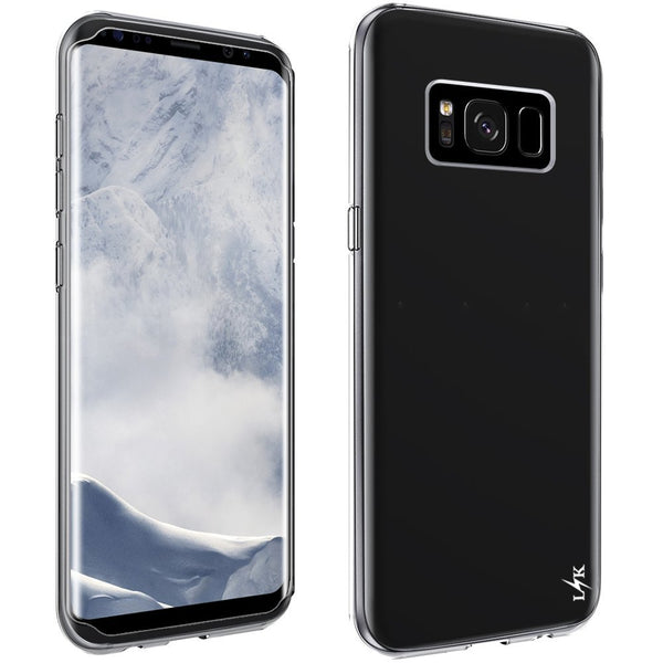 Galaxy S8 Plus Case, LK Ultra [Slim Thin] Scratch Resistant TPU Rubber Soft Skin Silicone Protective Case Cover for Samsung Galaxy S8