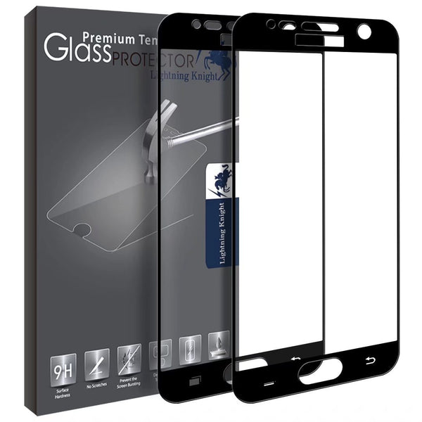 Samsung Galaxy S7 Screen Protector,  Full Cover Tempered Glass with Lifetime Replacement Warranty