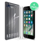 iPhone 6 Plus / iPhone 6S Plus Screen Protector (4-Pack) [Tempered Glass] with Lifetime Replacement Warranty