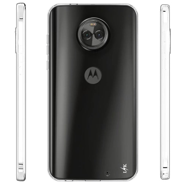 Moto X4 Case, LK Ultra [Slim Thin] Scratch Resistant TPU Rubber Soft Skin Silicone Protective Case Cover for Motorola Moto X4 (Clear)