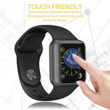 [6 Pack] LK for Apple Watch Screen Protector (38mm Series 3/2/1 40mm Series 4 Compatible), Liquid Skin [Full Coverage] [Anti-Bubble] HD Clear with Lifetime Replacement Warranty