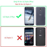 LG Stylo 3 Plus Screen Protector (2-Pack) LK [Full Cover] Tempered Glass with Lifetime Replacement Warranty [Not Fit for LG Stylo 3]