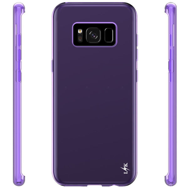 Galaxy S8 Case, LK Ultra [Slim Thin] Scratch Resistant TPU Rubber Soft Skin Silicone Protective Case Cover for Samsung Galaxy S8