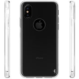 iPhone X Case, Ultra [Slim Thin] Scratch Resistant TPU Rubber Soft Skin Silicone Protective Case Cover for Apple iPhone X (Clear)