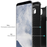 Galaxy S8 Case Gladiator Series-Shock Absorption Hybrid Armor Defender Protective Case Cover