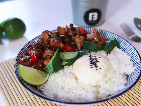 BBQ Chicken Rice - Boufe Boutique Cafe