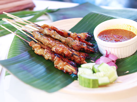Kampung Style Chicken Satay - Boufe Boutique Cafe