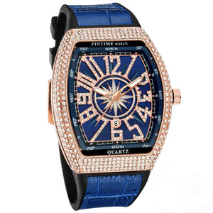 AfriNOVA RUSS44 Brand3ma Hussleman Luxury Watch