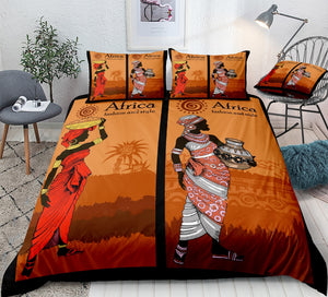 Sunset Bedding Set