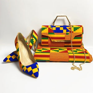 EM AfriNOVA Kehinde Bag & Shoes