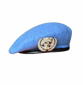 EM & Ibaka United Nations Peacekeeping Hat