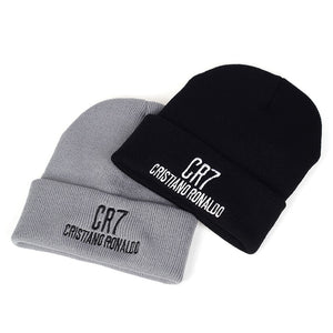 EM AfriNOVA CR7 Embroidered Knitted Hat