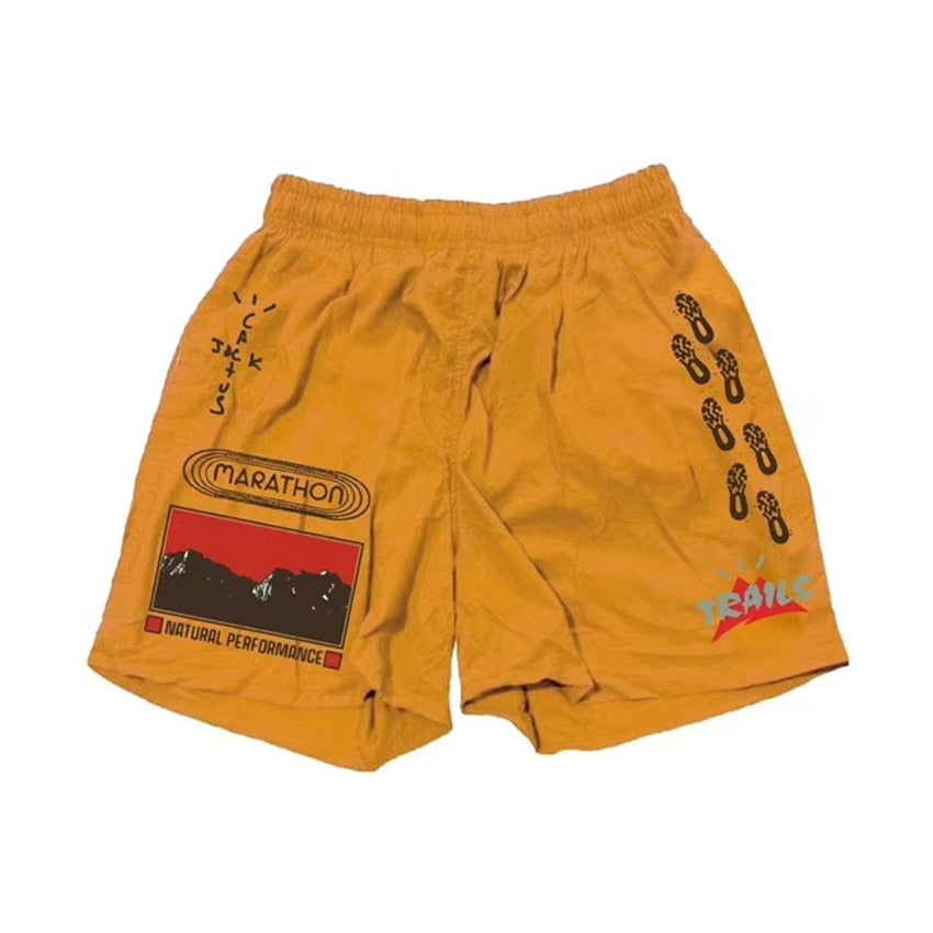 EM AfriNOVA Cactus Jack Trails Path Shorts