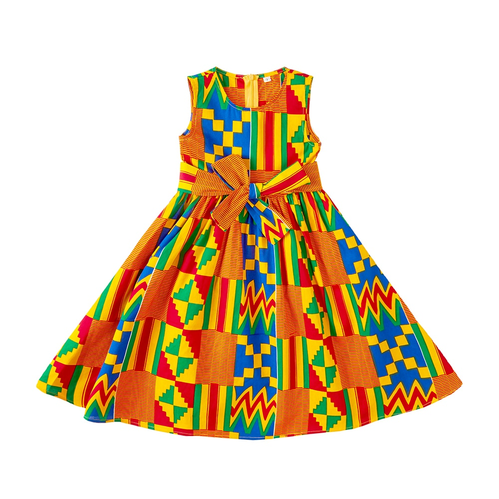 EM AfriNOVA Sikon Kids Kente Dress