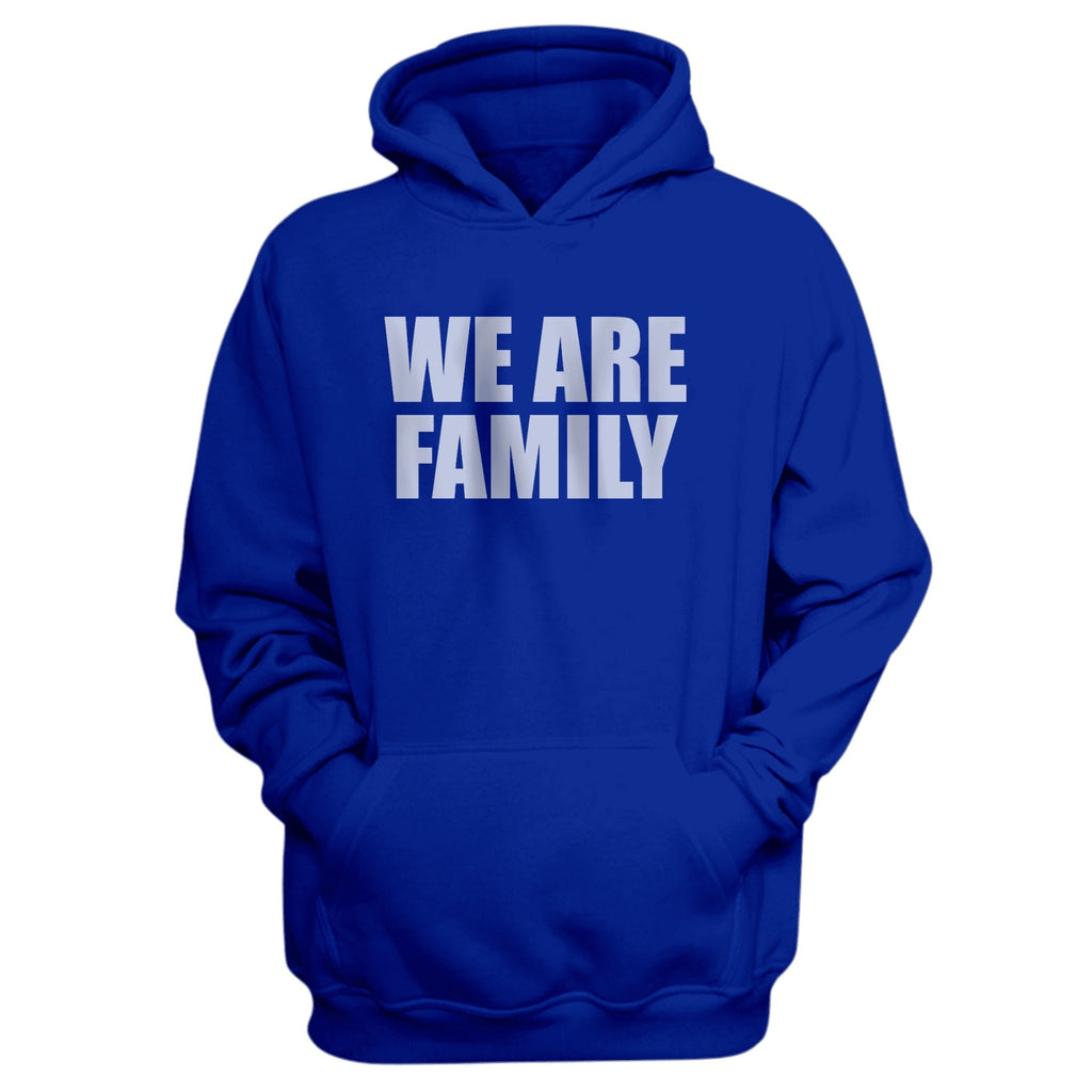 We Are Family Blue Hoodie