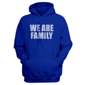 EM AfriNOVA We Are Family Blue Hoodie