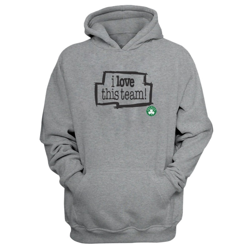 EM AfriNOVA Celtics, I Love This Team Grey Hoodie