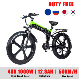 EM AfriNOVA Ebike Mountain Beach Cruiser