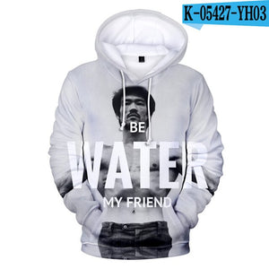 EM AfriNOVA Be Water, My Friends Hoodie