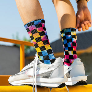 EM & Ibaka Plaid Crew Thermal Socks