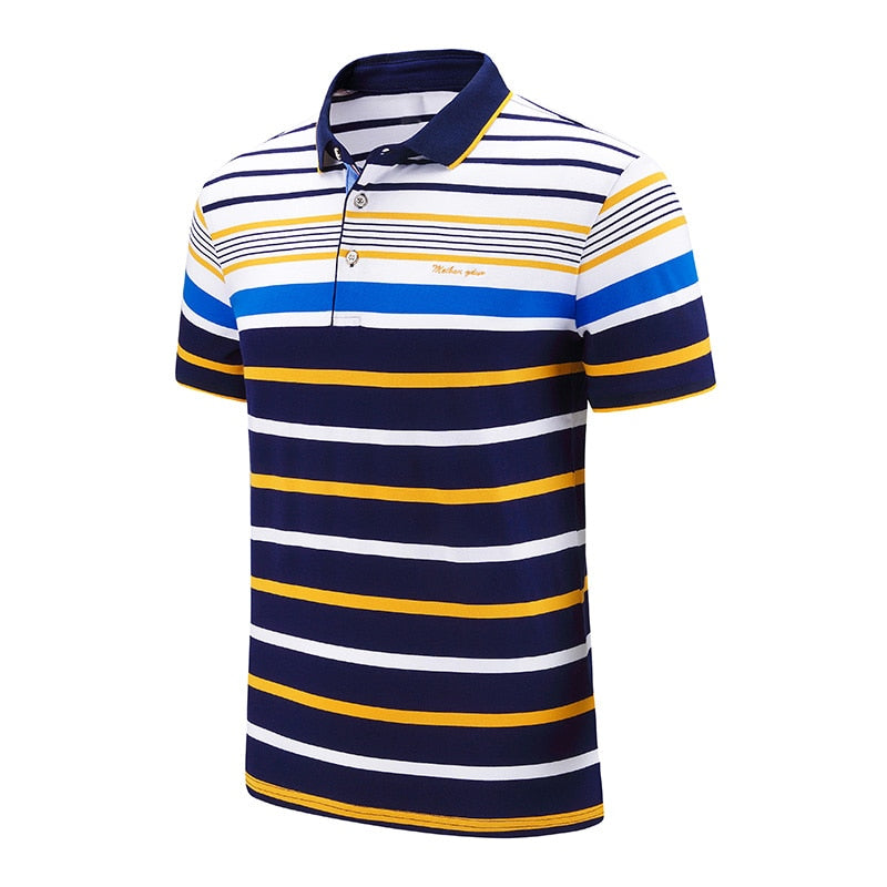 EM AfriNOVA Striped Polo Shirts