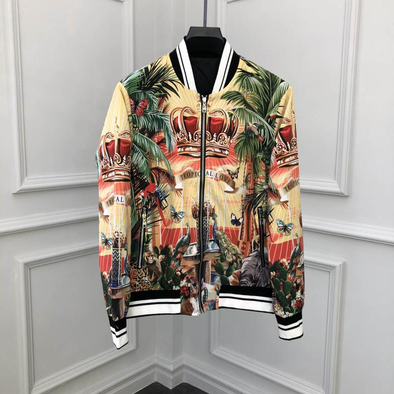 TXZ701175   Fashion Men's Coats & Jackets 2019 Runway Luxury famous Brand European Design party style Men's Clothing