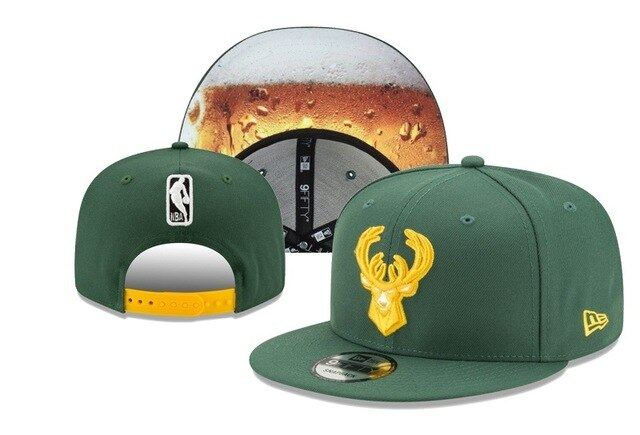 EM AfriNOVA Milwaukee Bucks Basketball Cap