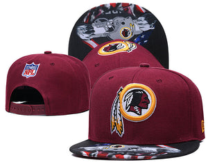 EM AfriNOVA NFL Washington Football Snapback Hat