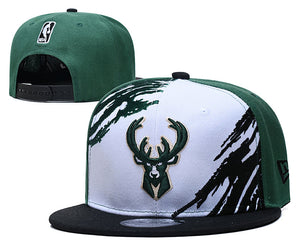 EM AfriNOVA Milwaukee Bucks Snapback Hat