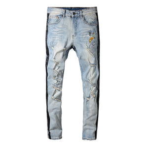 AfriNOVA & Bucky Flight Retro Jeans