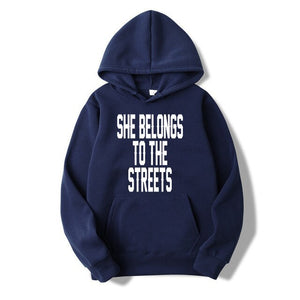 EM AfriNOVA She Belongs To The Streets Hoodie