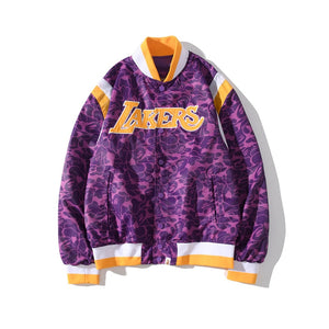 EM AfriNOVA L.A. Lakers Baseball Jacket