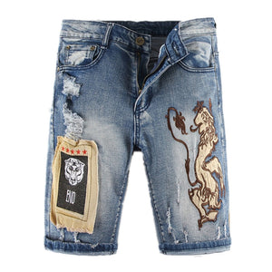 Lion King Jeans Shorts