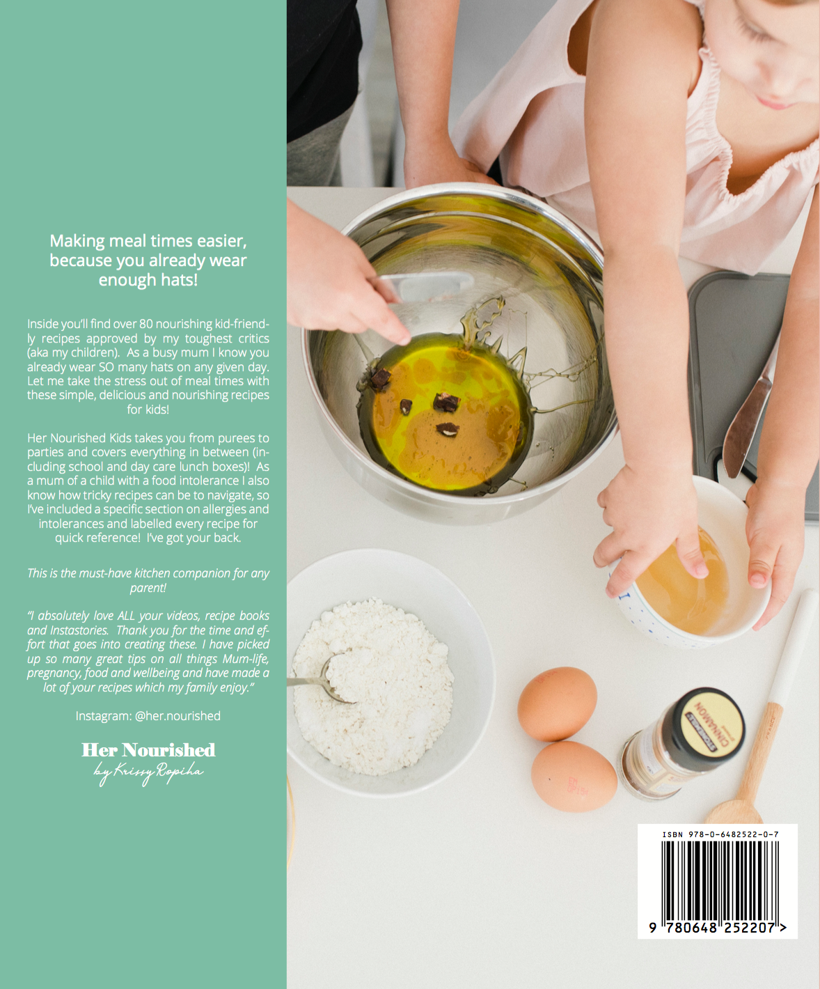HER NOURISHED KIDS - PRINTED RECIPE BOOK – Nourished With Krissy