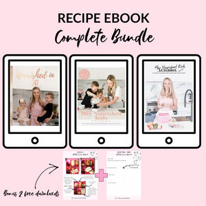 Complete Bundle! 3 Ebooks + 2 printables