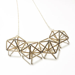 Multiple Geo Necklace