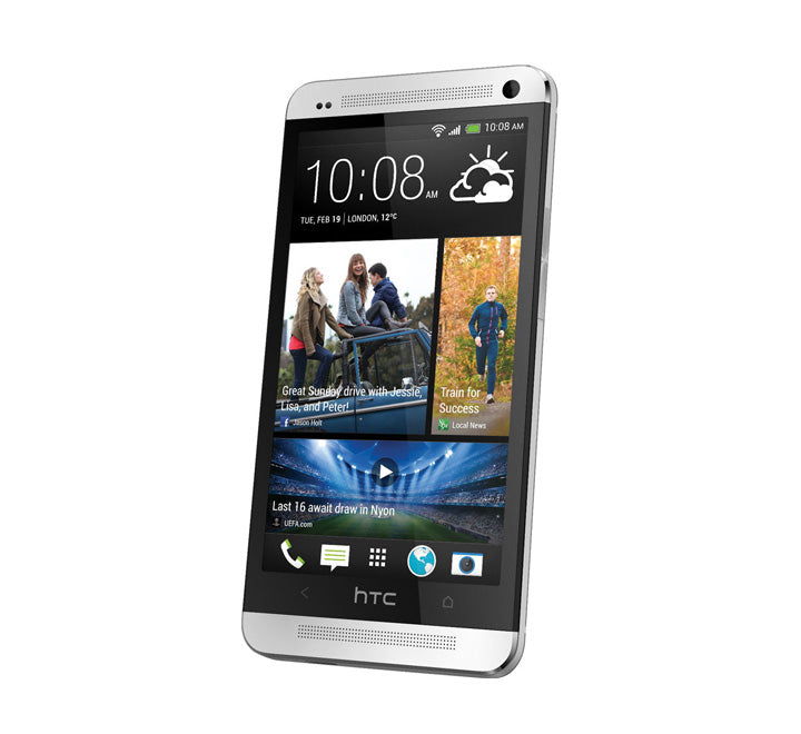 HTC One M7 Mobile Phone Silver