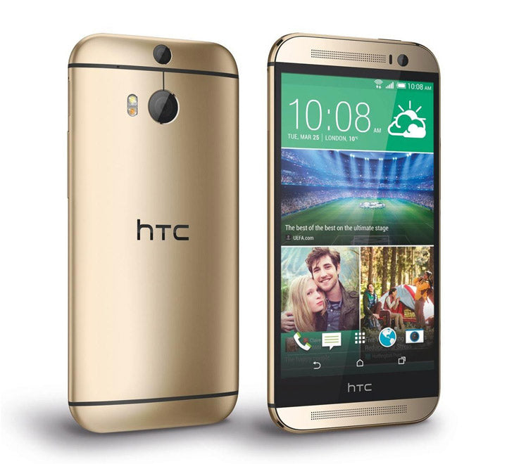 HTC One M8 Dual Camera Single Sim 16 GB 4G LTE Gold