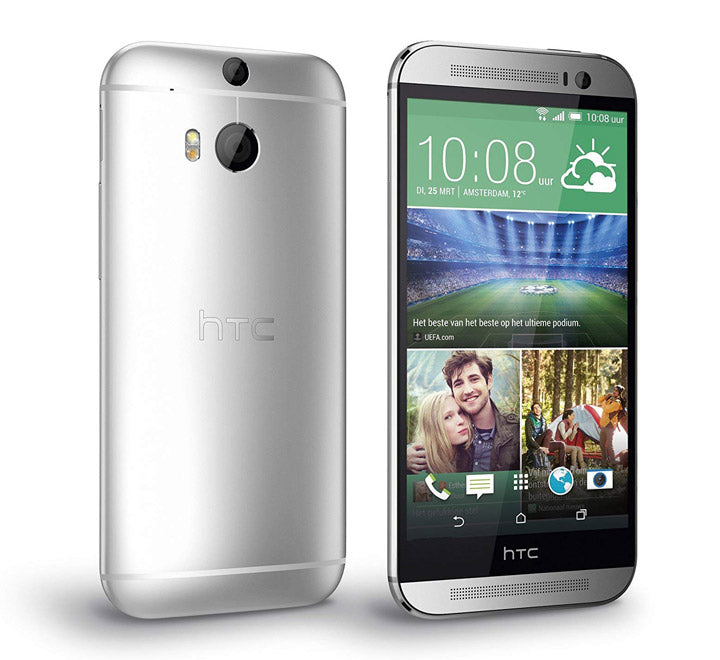 HTC One M8 Dual Camera Single Sim 16 GB 4G LTE Silver