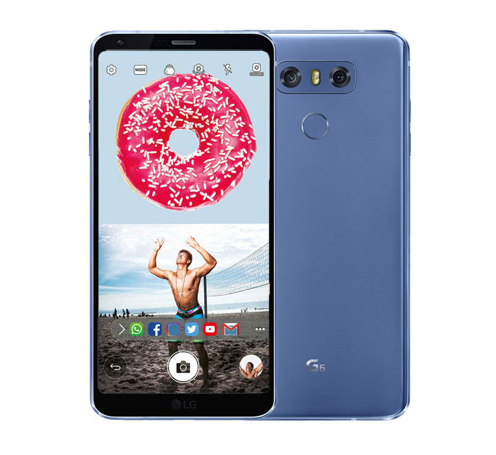 LG G6 Single Sim 64 GB Mobile Phone Best Price Blue